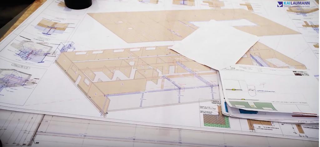 Kai Laumann Holzbau, Planunterlagen zum Holzbau