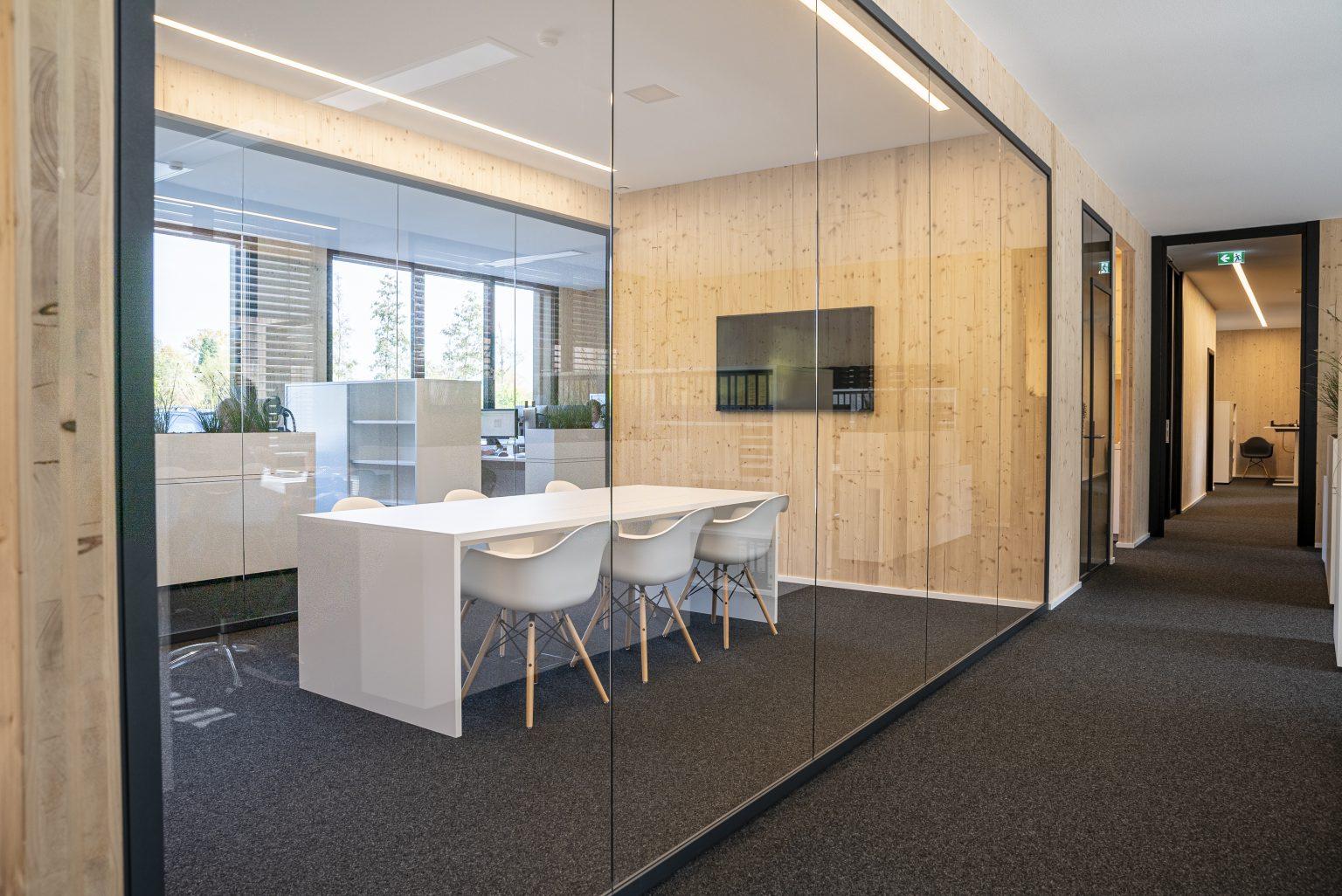 Holzbau Bürogebäude