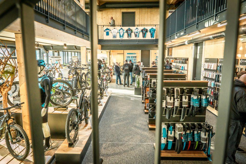 Delta Bike Cube Store, Verkaufsräume EG