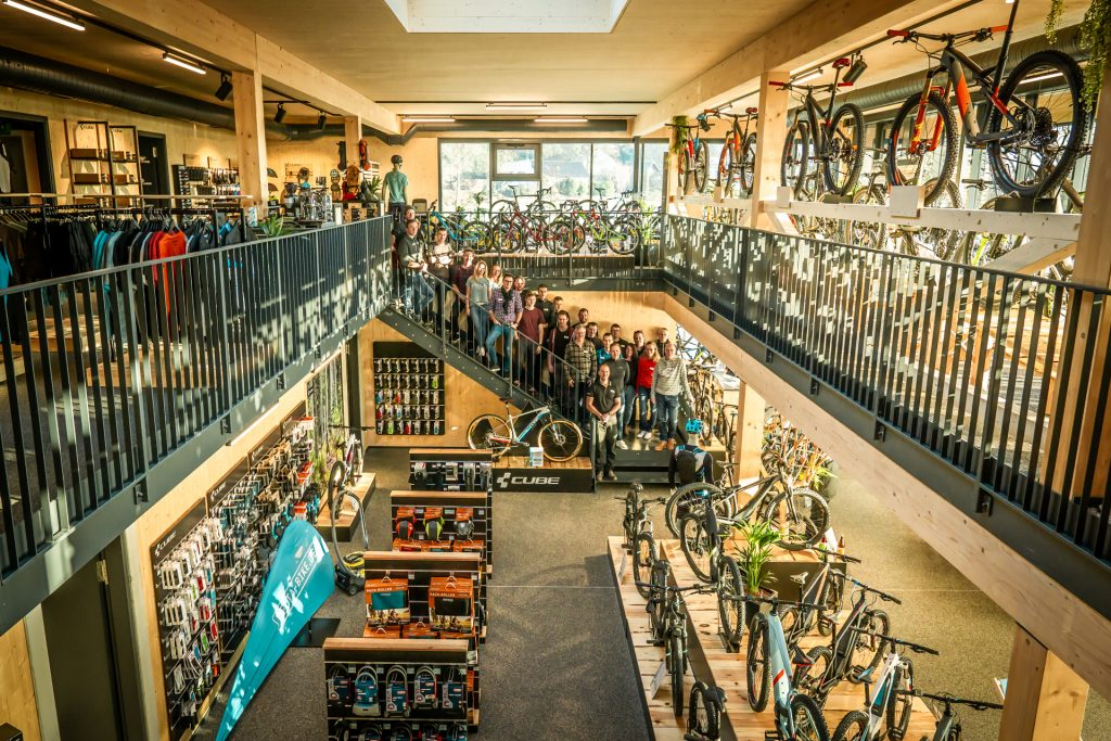 Delta Bike Cube Store, Mitarbeiterteam