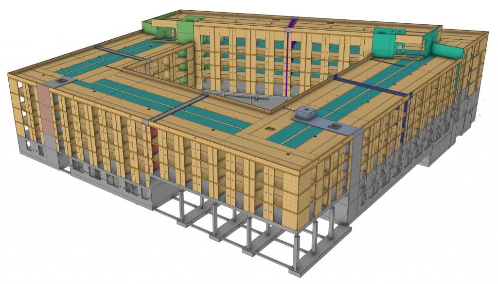 Studentenwohnheim Riedberg, Visualisierung