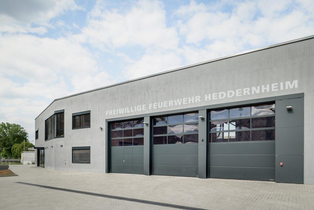 Feuerwache Heddernheim, Frontansicht